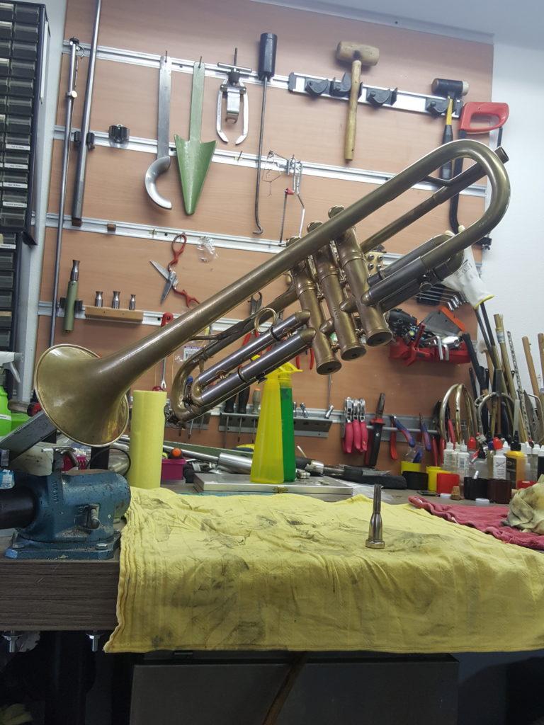 trompet onderhoud
