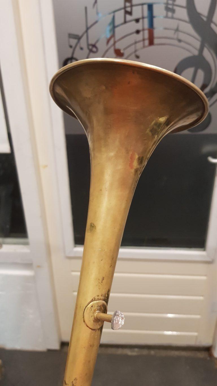 trompet beker reparatie