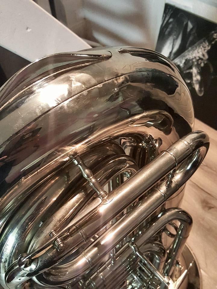 Kaiser Bass Tuba | uitdeuk sessie