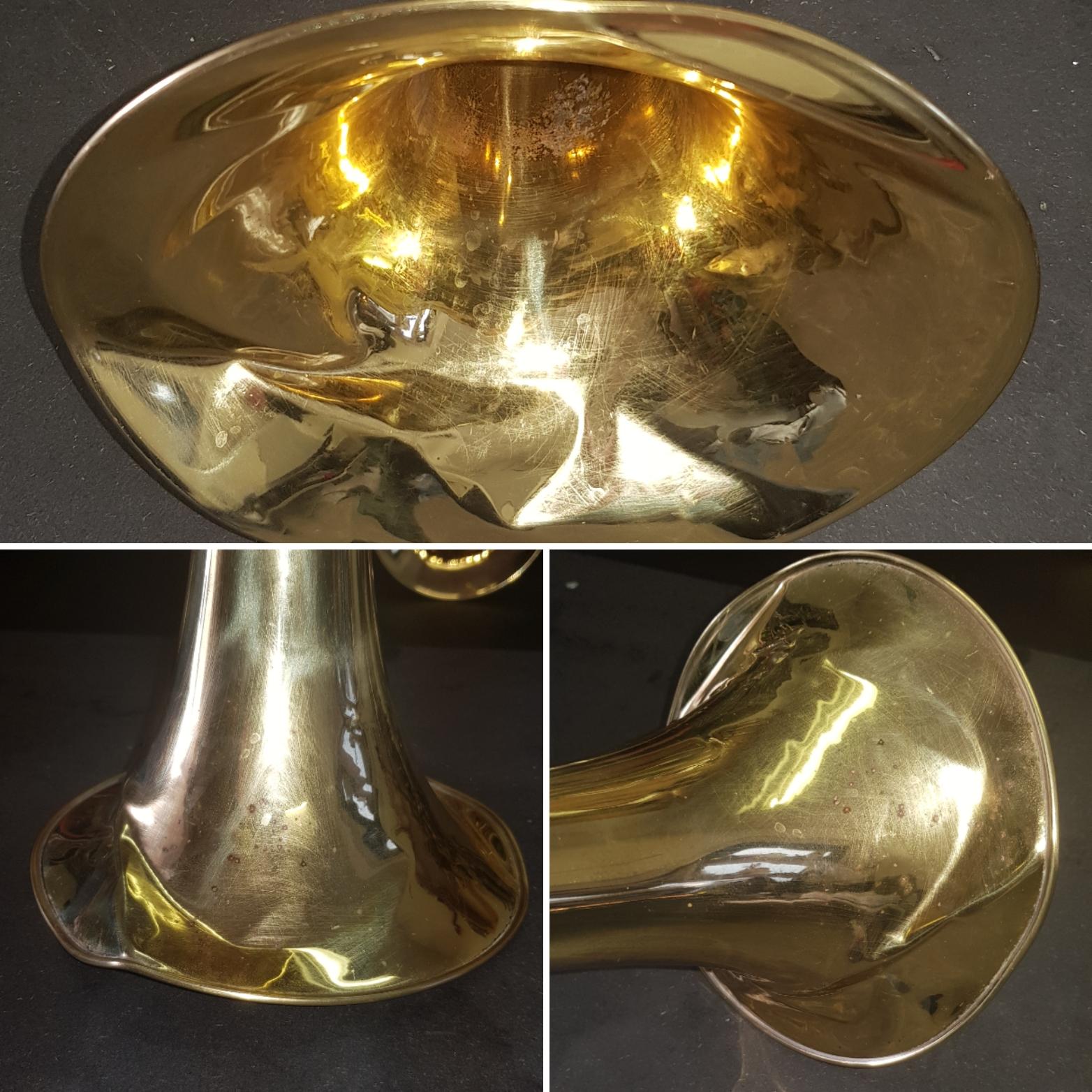 trombone beker reparatie
